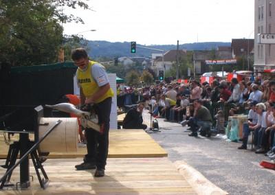 DENGLER Ralf - Epreuve Tronçonneuse de vitesse - Festival 2007