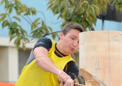 TRINCAZ Christophe - Epreuve hache verticale
