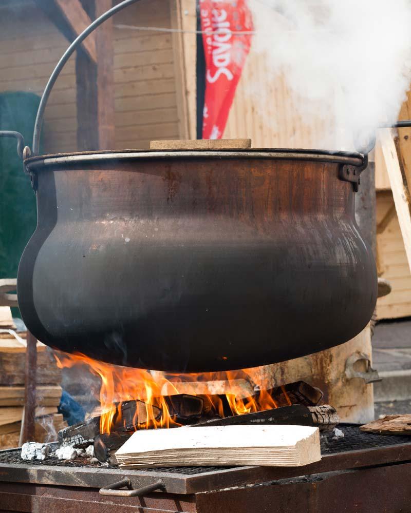 La soupe des bûcherons