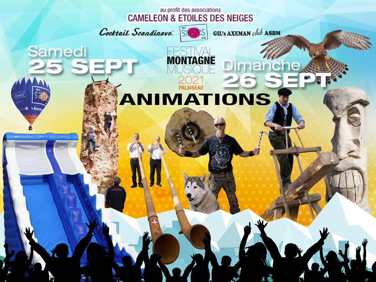 Les animations du Festival